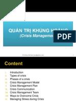 4. Crisis Management