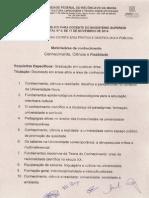 Pontos Para Provas Onhecimento Ciencia e Realidade Edital 09 2014