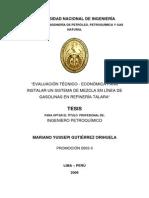 Tesis Linea Gasolinas Talara