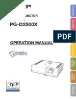 Pro Man PGD2500X