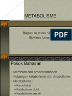 Metabolisme Biokimia-2 Untuk Akbid Rabu