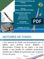 Diapositivas Motores de Fondo, Perforacion Direccional