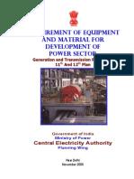 Indian Govt Power Sector Details