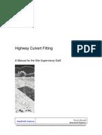 Culvert Fitting Manual