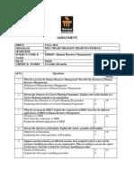 MB0043-Human Resource Management