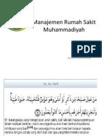 Manajemen Rumah Sakit Muhammadiyah-aswin.ppt