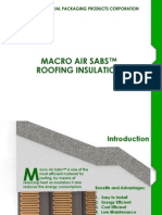 MACRO AIR SABST Roofing Insulation