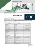 Anunt Practica 2014