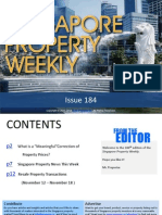 Singapore Property Weekly Issue 184