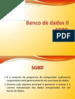 DB2 - SGBDs