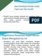 Hubungan Antara Penilaian Risiko Audit Terpisah Dan Fase (AKPRI LRAK 4)
