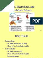 Water, Electrolytes, And Acid-Base Balance
