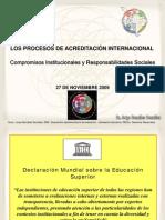 Procesos de Acreditacion Internacional