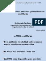 Medicina Tradicional Alternativa Complementaria en El Mundo