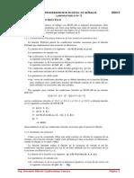 Metodos de solucion de sistemas discretyos. Filtros