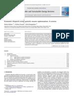 2009- Amita Mahor Economic dispatch using particle swarm optimization- Economic Dispatch Using Particle Swarm Optimization