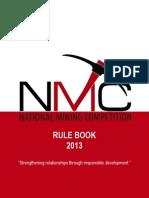 NMC Rulebook 20131