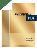Analiza Tematica Compatibility Mode