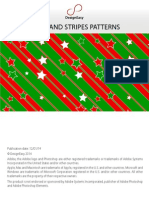 Free Stars and Stripes Seamless Tiling Patterns
