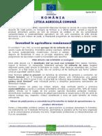Influenta PAC in Romania 2007-2013