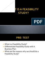 What is a Feasibility Study