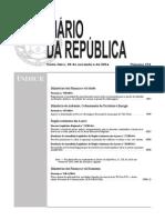 Diario Da Republica No 231 2014