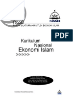 Kurikulum Ekonomi Islam