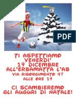 Natale con Senago Calcio