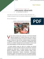 050506 Delgado El Holocausto Silenciado