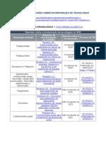 RELATÓRIOS E DECISÕES SOBRE INCORPORAÇÃO DE TECNOLOGIAS.doc