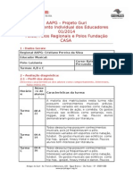 Planejamento Individual 2014 Tarde