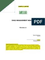 OHSAS Management Manual