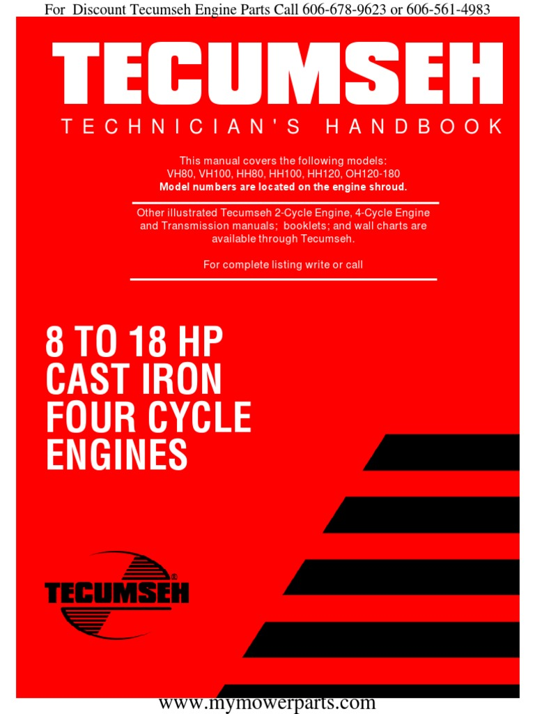 Tecumseh Ohv Engine Diagram Exploded Wiring Library Pin 5 Hp Carburetor Linkage On Pinterest Service Repair Manual Vh80 Vh100 Hh80 Hh100