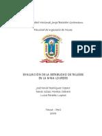 Tesis UNJBG 2003.- Evaluacion de La Estabilidad de Taludes en La MINA LOURDES