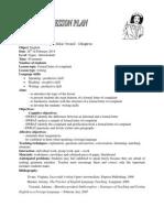 Lesson Plan Formal Letter of Complaint