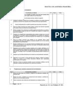 Programa de Auditoría Para Inventarios