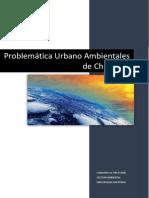 Problemática Urbano Ambientales de Chimbote