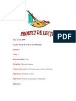 Plan Educatie Plastica Clasa 1