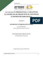 Volumen 5 Factibilidad Financiera