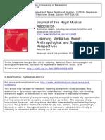 Listening, Mediation, Event