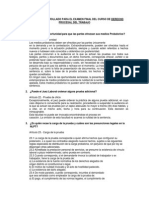 Balotario Final Procesal Trabajo-derecho laboral