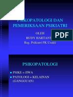 Psikopatologi Dan Pemeriksaan Psikiatri