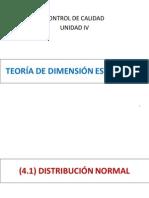 Unidad IV Teorc3ada de Dimensic3b3n Estadc3adstica