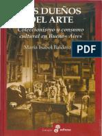 Baldasarre, Maria I - Los Dueños Del Arte