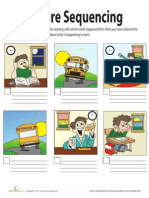 Picture Sequencing Worksheet