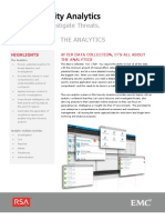 Security Analytics Applications Ds