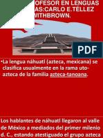 La Lengua Náhuatl Presentación Jornadas 2014.