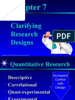 Chapt Research Design