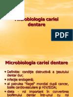 Microbiologia Cariei Dentare