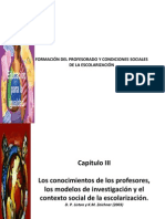 Formacion Del Profesorado Liston y Zeichner (2003).